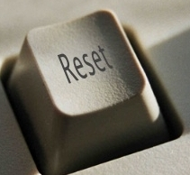 push the reset button