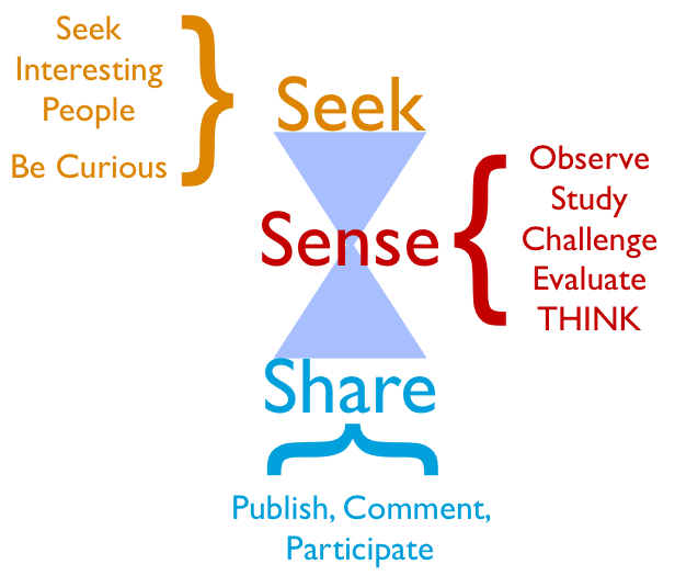seek sesne share critical thinking