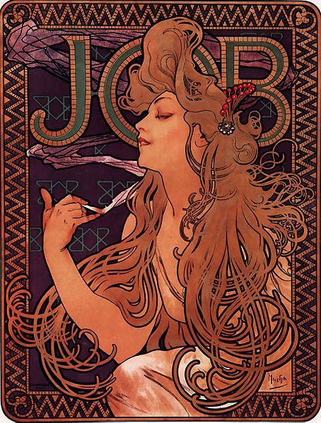 Mucha-job-cigarette papers-1898