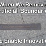 When we remove artificial boundaries