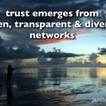 Aligned principles for an open, networked society