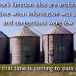 Dysfunctional work silos