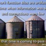 Dysfunctional work silos