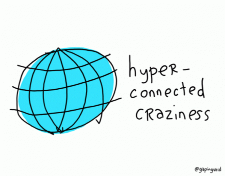 hyperconnected craziness