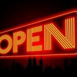 Open as in commons, not garden