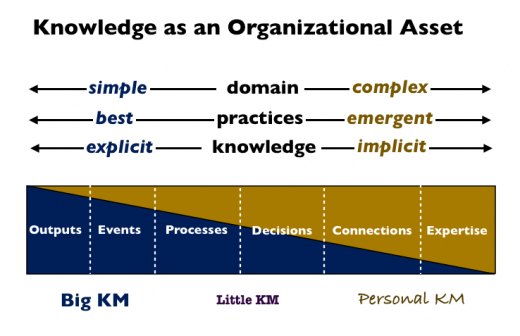 knowledge organizational asset
