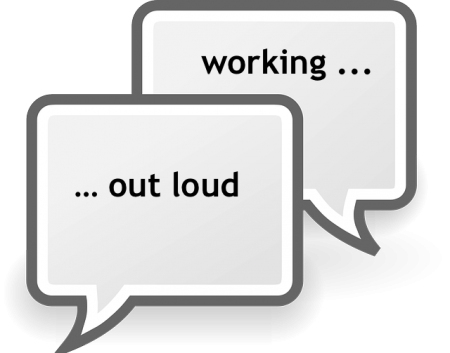 working out loud