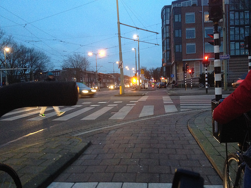cycle commuting in The Hague