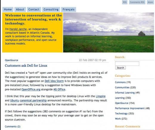 jarche.com Feb 2007