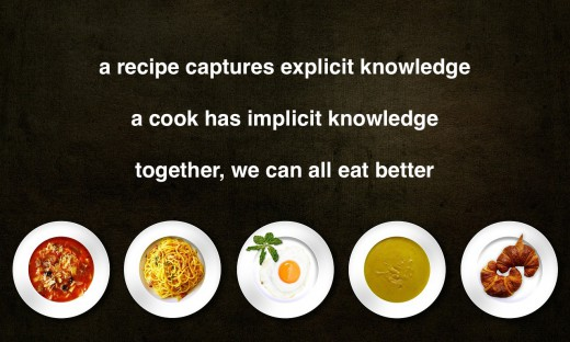 cooking knowledge