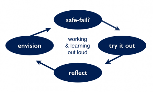 A safe-to-fail approach enables continuous learning in complex environments