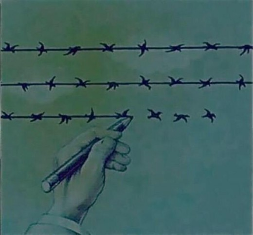 freedom and slavery