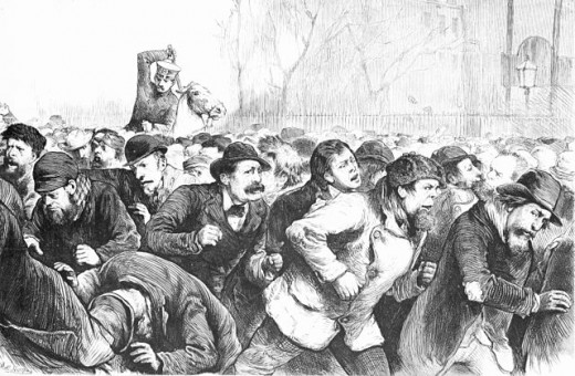 Tomkins Square Riot 1874