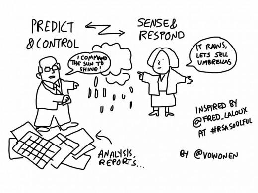 control or sense