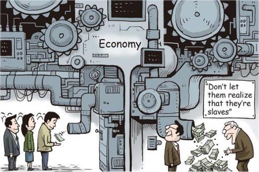 economic slaves