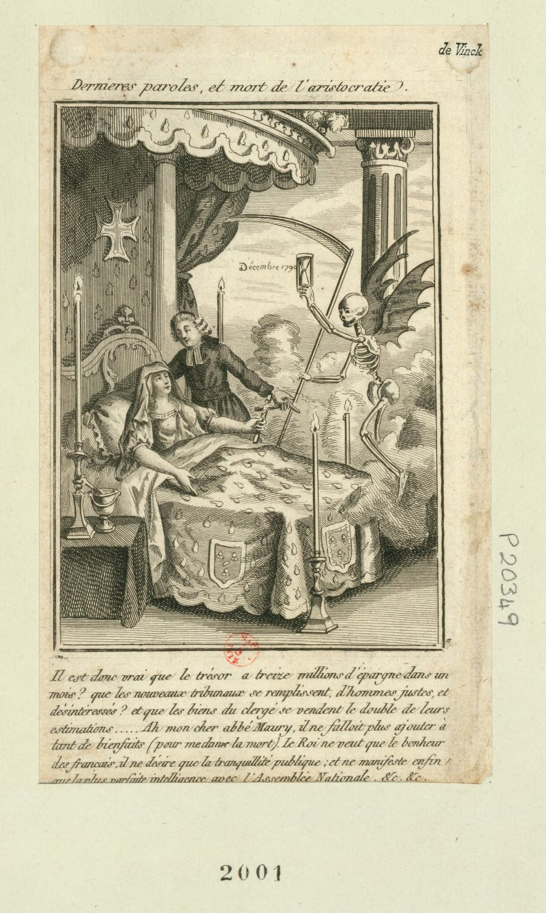 Last words and death of the aristocracy - Stanford French Revolution Digital Archives