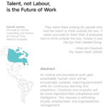 talent, not labour