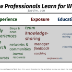 how professionals learn for work