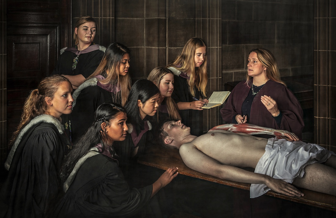 laurence winram anatomy lesson
