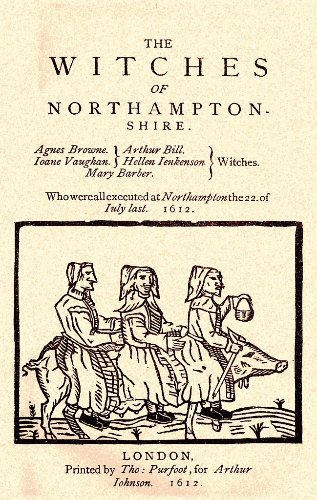 three witches of northampton