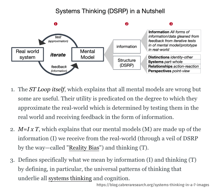 systems thinking DSRP model